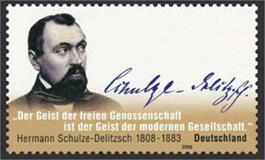 """""""Gründervater der Genossenschaften"""""""